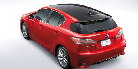 Lexus CT200h : facelifted hatch range retains  $39,990 starting price