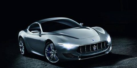 Maserati Alfieri concept leaked : New F-Type rivalling sports coupe takes shape
