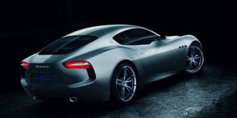 Maserati Alfieri concept leaked : New F-Type rivalling sports coupe takes shape