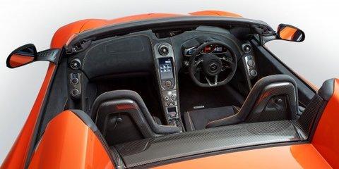 McLaren 650S Spider : new supercar loses its lid