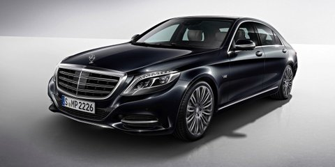 Mercedes-Benz S-Class Maybach : surprise badge return for Rolls challenger