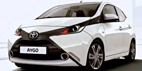 2014 Toyota Aygo leaked ahead of Geneva motor show
