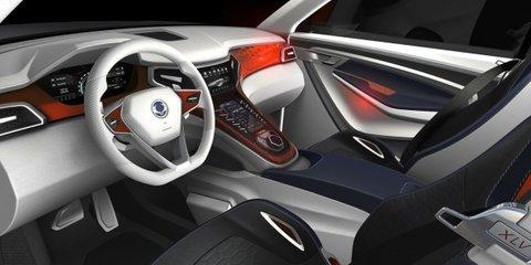 Ssangyong XLV concept previews next-gen compact SUV