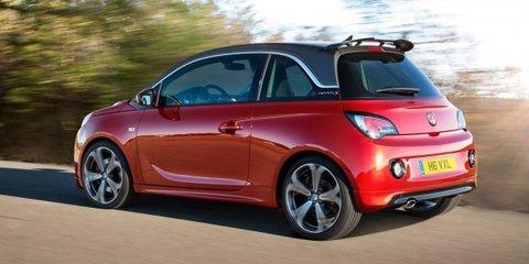Opel Adam S hot-hatch revealed