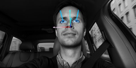 Volvo sensor technology reads drivers' eyes and attention