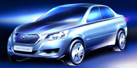 Datsun budget sedan for Russia teased