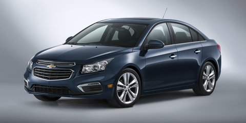 2015 Holden Cruze facelift revealed in Chevrolet guise