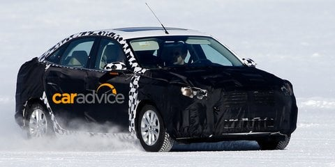 Ford Escort spied testing in Australia