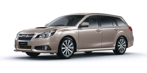 Subaru Liberty: sedan only for new-generation mid-size model