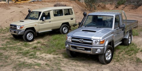 2017 Toyota LandCruiser 70 Series:: more power and torque, extra features