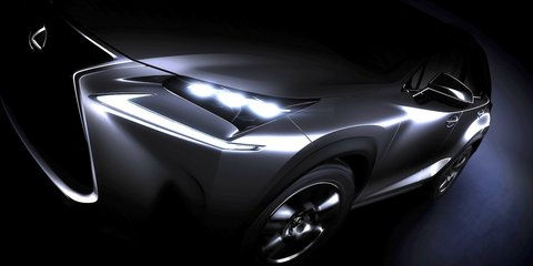 Lexus NX SUV teased ahead of Beijing debut