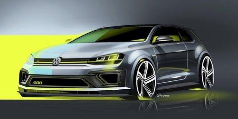 Volkswagen Golf R 400 concept – 295kW, 0-100 in 3.9 seconds