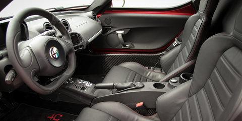 Alfa Romeo 4C gallery : sideways at Avalon airport