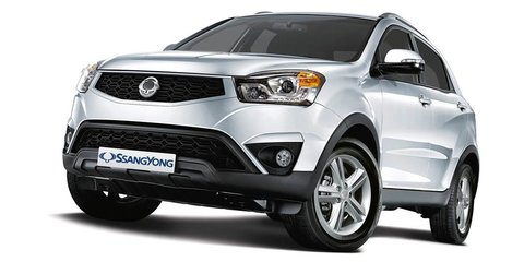 2014 Ssangyong Korando priced from $27,990 driveaway