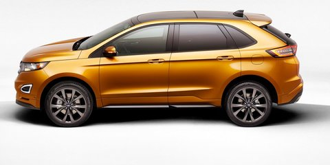 2015 Ford Edge : Territory replacement revealed