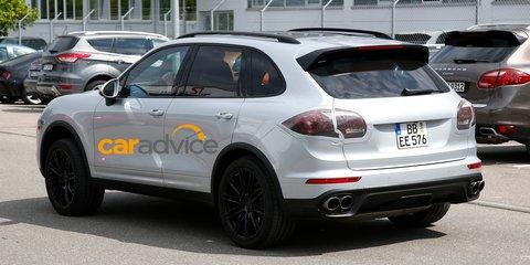 2015 Porsche Cayenne : Best look yet at luxury SUV facelift