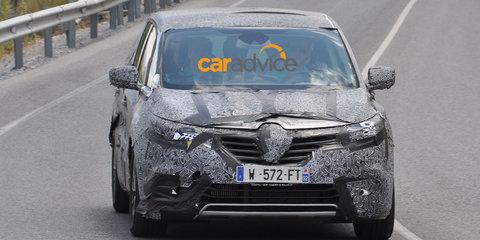 2015 Renault Espace spied ahead of Paris premiere