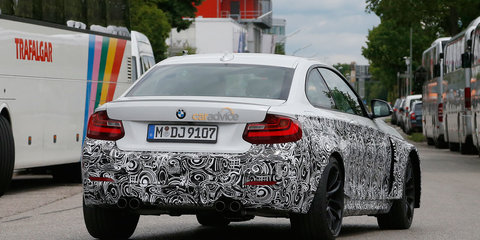 BMW M2 caught testing with new M3