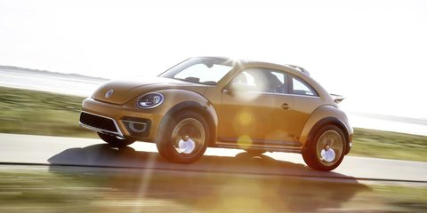 Volkswagen Beetle Dune could be built