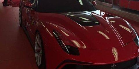 Ferrari F12 TRS: A one-off open top F12 Berlinetta
