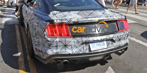 Ford Mustang : circa-500kW Shelby GT500 successor spied