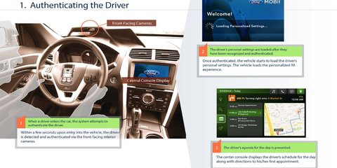 Ford and Intel working on interior-facing camera tech known as Project Mobii