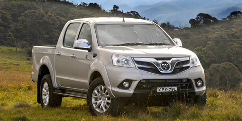 Foton Tunland: Chinese ute relaunched with dual-cab-only range, new sub-$30K 4x4 price