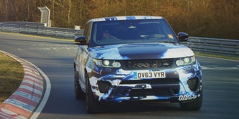 2015 Range Rover Sport SVR: 404kW SUV the first series production car from JLR Special Vehicle Operations