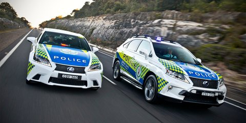Lexus RX and GS hybrids join NSW Police fleet
