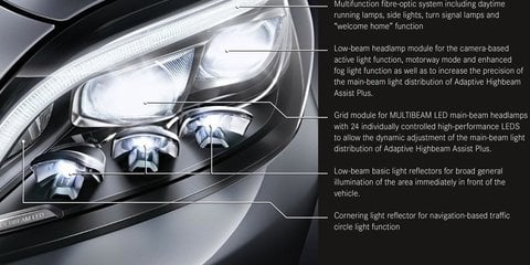 Mercedes-Benz CLS facelift teased, features new Multibeam LED headlights