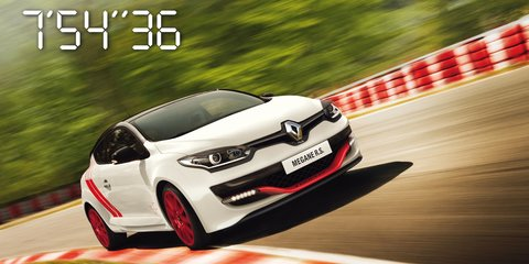 Renault Megane RS275 Trophy-R : Nurburgring fastest front-driver title reclaimed by hardcore two-seater