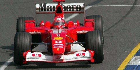 Ferrari standing behind recovering Schumacher, ailing F1 team