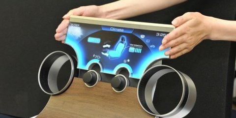 Free-form displays coming to cars