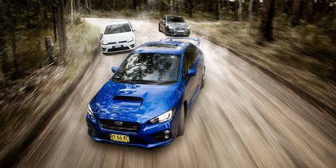 Sports car comparison : Subaru WRX STI v Audi S3 v Volkswagen Golf R