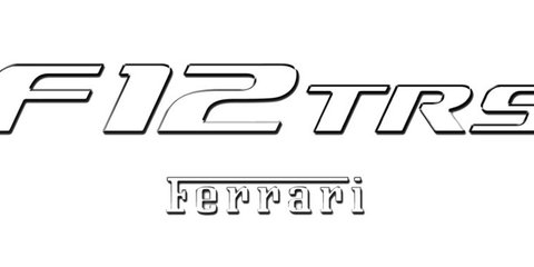 Ferrari F12 TRS : New one-off supercar surfaces