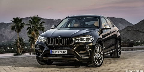 2015 BMW X6 : Photos of second-generation SUV leaked