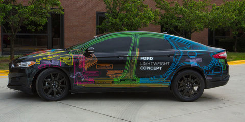 Ford Lightweight Concept Car: A Fusion/Mondeo that weighs as little as a Fiesta