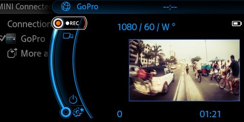 BMW and Mini introduce integrated GoPro app
