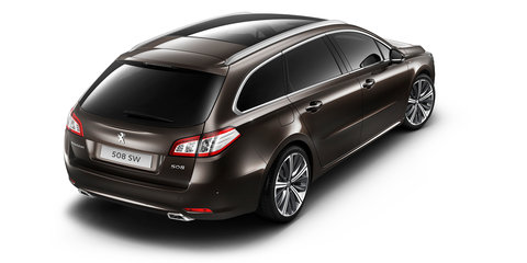 Peugeot 508 facelift revealed