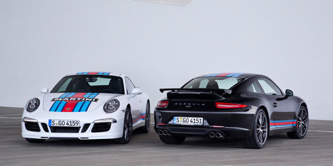 Porsche 911 Carrera S Martini Racing Edition unveiled, not coming to Australia