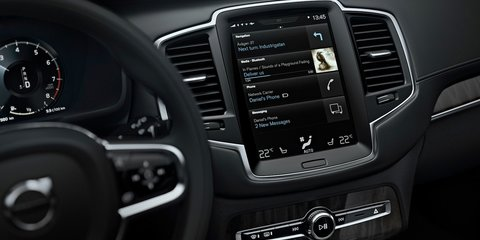 2015 Volvo XC90 : smarter, safer infotainment system revealed