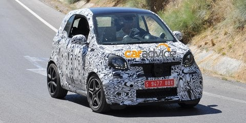 Smart Fortwo Brabus: New pocket-rocket spied