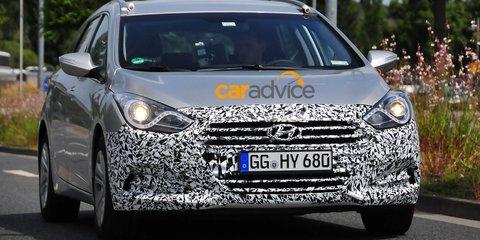 2015 Hyundai i40: facelifted Tourer spied