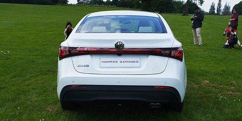 MG GT small sedan revealed