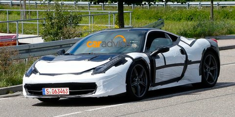 2015 Ferrari 458 M : turbocharged supercar spotted undergoing testing