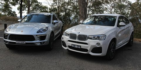 Porsche Macan v BMW X4 : Comparison review
