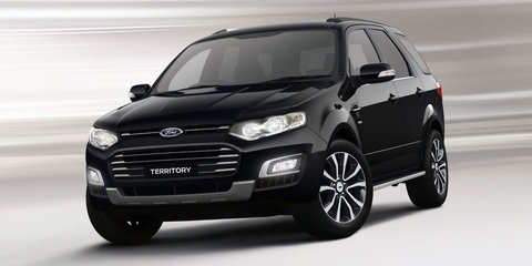 2015 Ford Territory specifications detailed