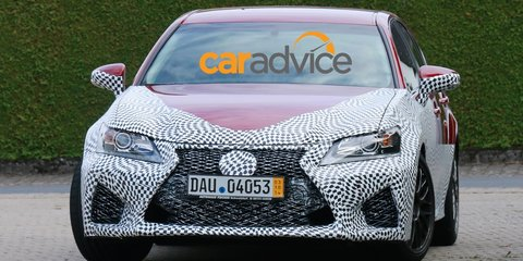 2016 Lexus GS F caught on camera