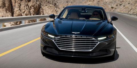 Aston Martin Lagonda goes testing in Oman