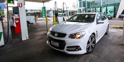 Filling Up an LPG Holden Commodore